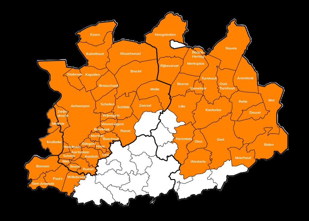 Kaart Dienstenthuis Vlaanderen Uitgesneden 4